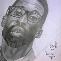 GIFTED HANDS!!! CHECKOUT LOVELY PENCIL SKETCH PORTRAIT OF TYE TRIBETT, GLOWREEYAH BRAIMAH & FRANK EDWARDS