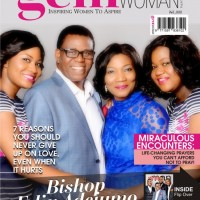 REV. MRS FUNKE FELIX ADEJUMO AND BISHOP FELIX ADEJUMO COVER NEW EDITION OF GEMMAN/GEMWOMAN MAGAZINE