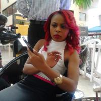 Red Rocks!!! Kenyan Singer Size 8 Revamps Style With New Look