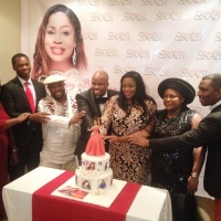 Photos: Chioma Jesus, Buchi, Others At Sinach's Surprise Birthday Party