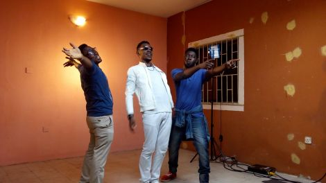 BTS - Okey Sokay - Aka Video Shoot (8)
